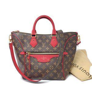 100% Auth Louis Vuitton Monogram Satchel Bag